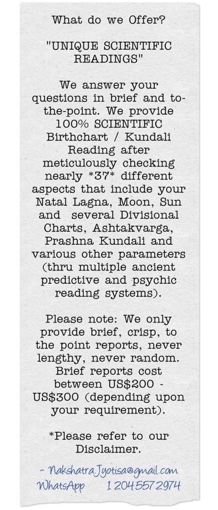 Book Your Unique Astro-Psychic Reading Online